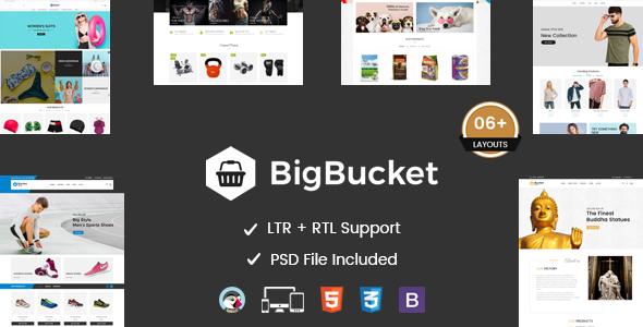 BigBucket - Multipurpose Responsive Prestashop Theme